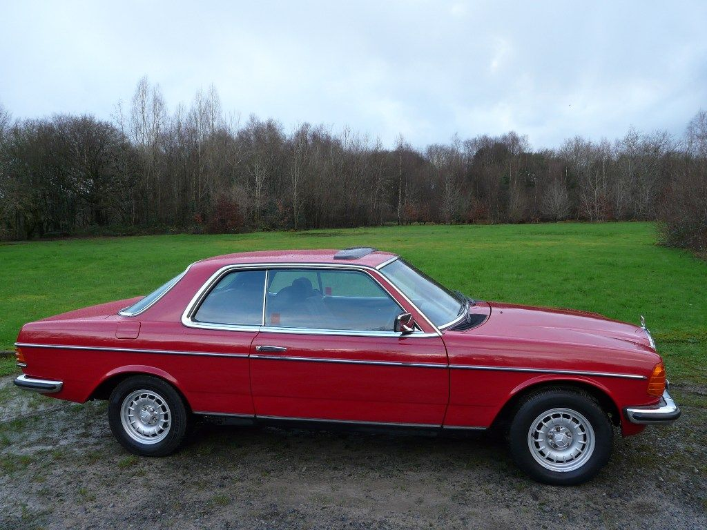 Beautiful Rare And Distinguished This Signal Red W123 Coupe Is