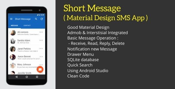 Download Free Short Message - Android SMS App # android #android app