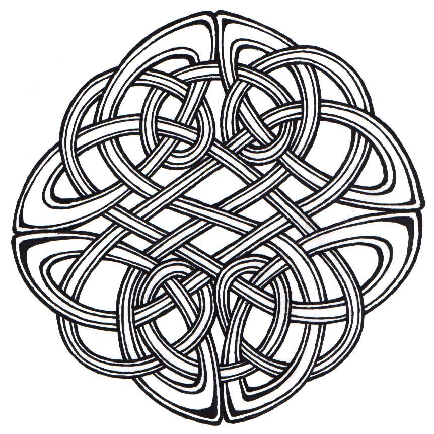 Brave Celtic Knot Celtic Knots Are Complete Loops Without Beginning