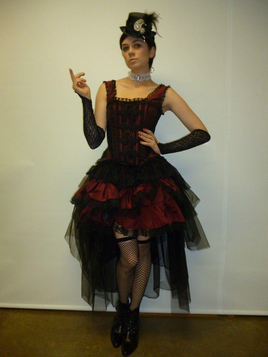 Victorian burlesque costume creative costumes victorian and victorian burlesque costume solutioingenieria Images