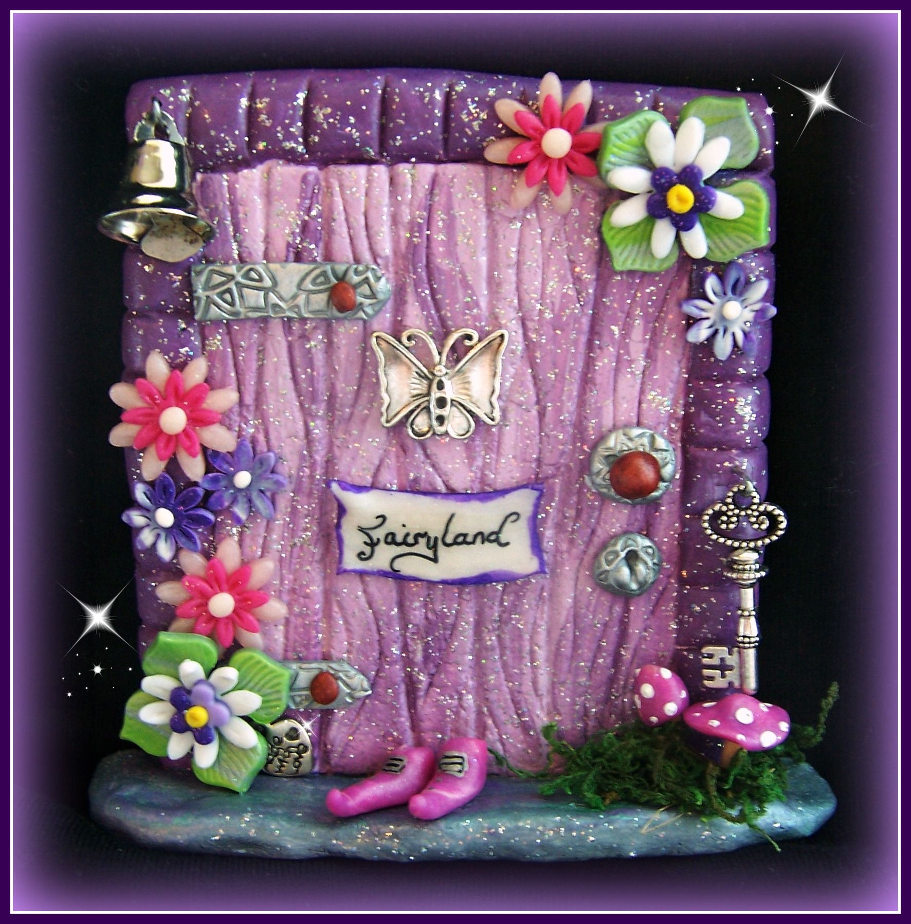 Find more of my doors for sale on for Miniature fairy garden doors