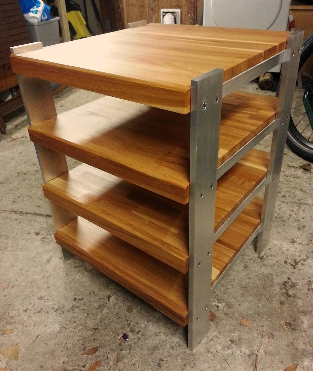Hifi rack eiche  Ikea Hack // HiFi Rack. Materials: LAMPLIG chopping boards Do you ...