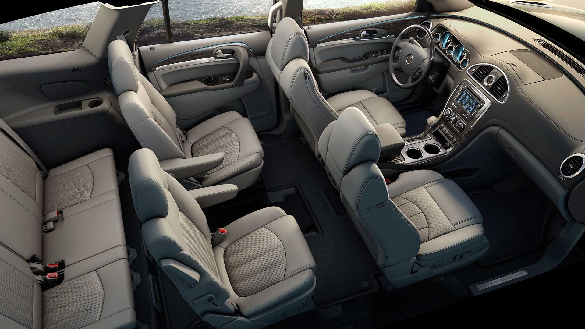 2014 Buick Enclave Luxury Crossover SUV | Interior Photos ...