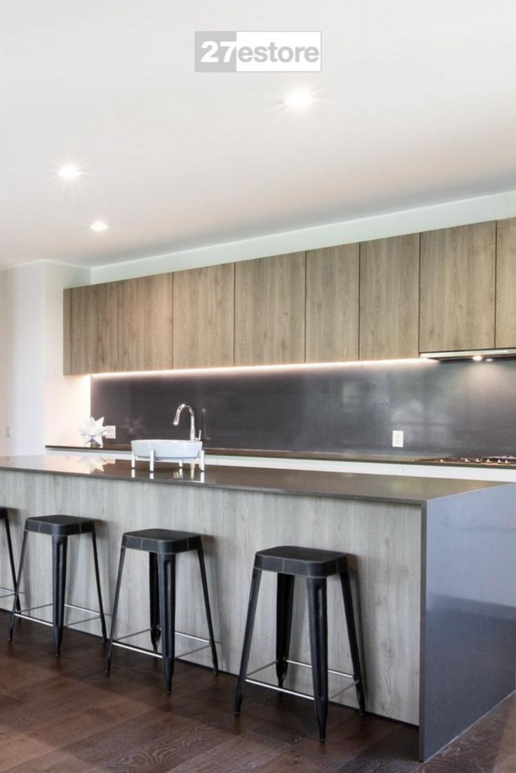 Italian Weathered Oak Textured In 2020 Modern Kitchen Design Weathered Oak New Cabinet Doors