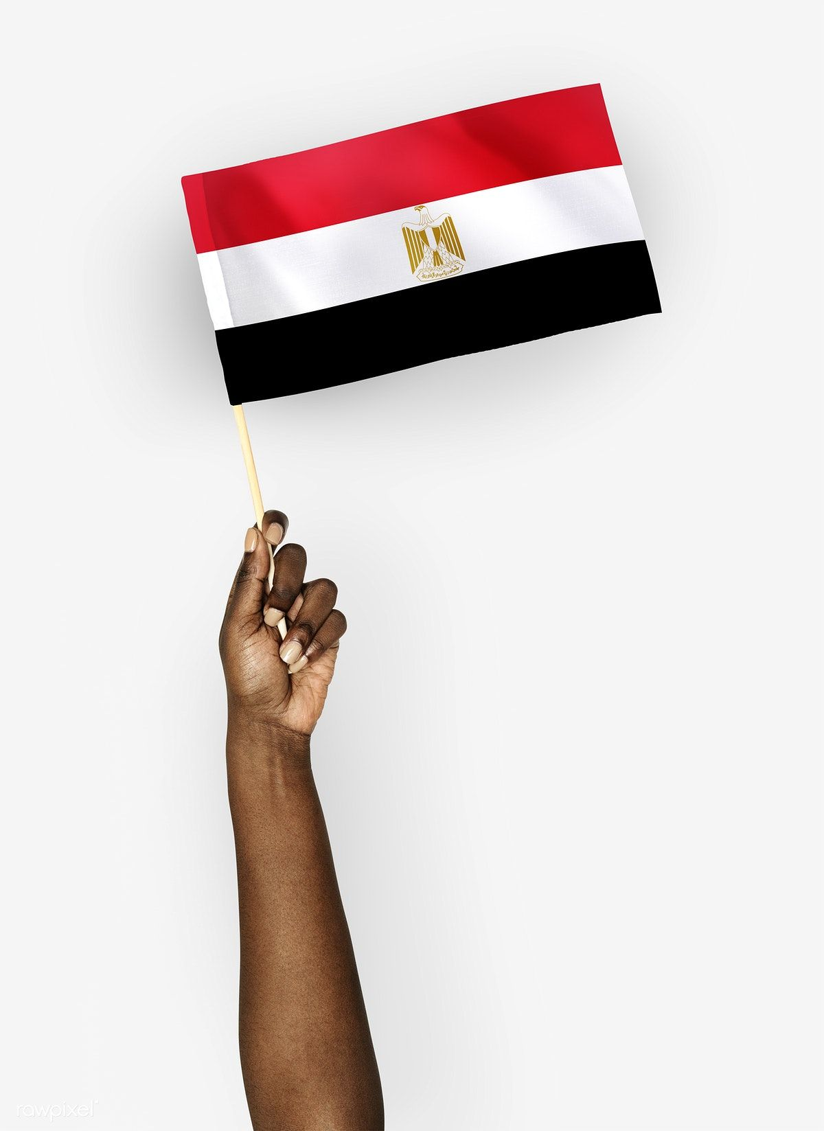 Person Waving The Flag Of Arab Republic Of Egypt Free Image By Rawpixel Com Egypt Egypt Flag Flags Of The World