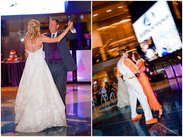 soccer-orange-purple-denver-wedding_0058 #DU #soccer #Wedding #elevatephotography #orange #purple #denverwedding #coloradowedding #weddingphotographer #weddingphotography #cablecenter