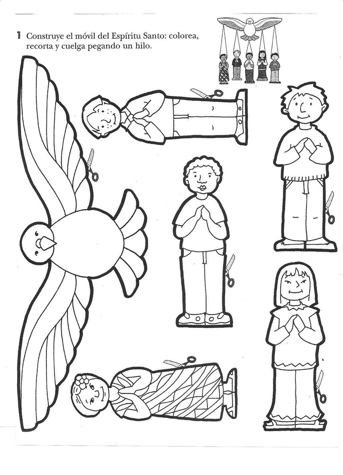 Tallita y las clases de religión: Móvil de Pentecostés ...