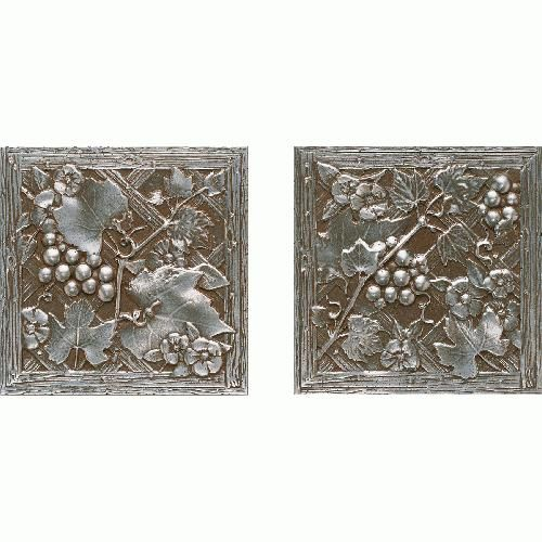 Aged Iron Trellis Deco Metal Signatures By Daltile Daltile Metal