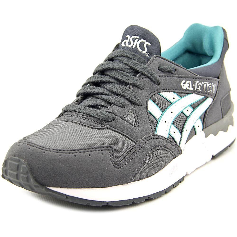 Chaussure de course ASICS , Gel Chaussure Lyte V GS M (Big Kid) Gray Gris foncé/ Blanc , M 438e95b - mwb.website