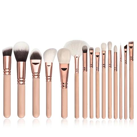 Photo of 10/15pcs Makeup Brushes Set Kit Cosmetics Beauty Tools