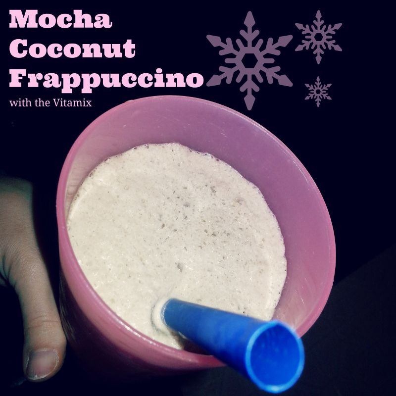 Mocha Coconut Frappuccino Recipe With The Vitamix