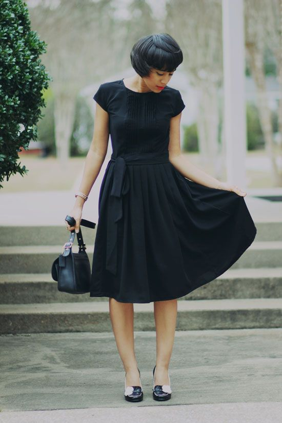 because every girl needs a go-to black dress in their closet