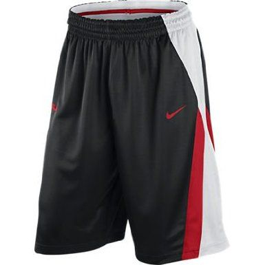 Amazon.com: Men's Nike Lebron Excel Basketball Shorts Black/White ...