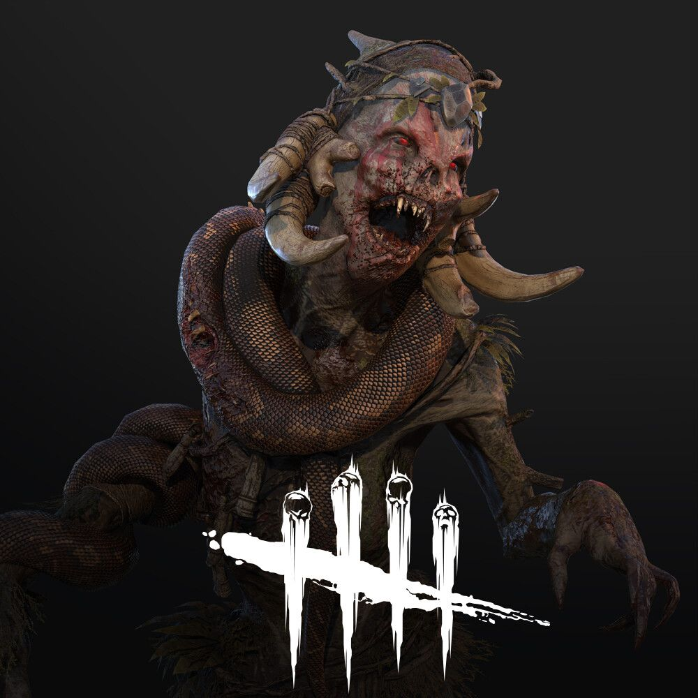 The Hag Dead By Daylight by Eric BourdagesThe Hag Snake
