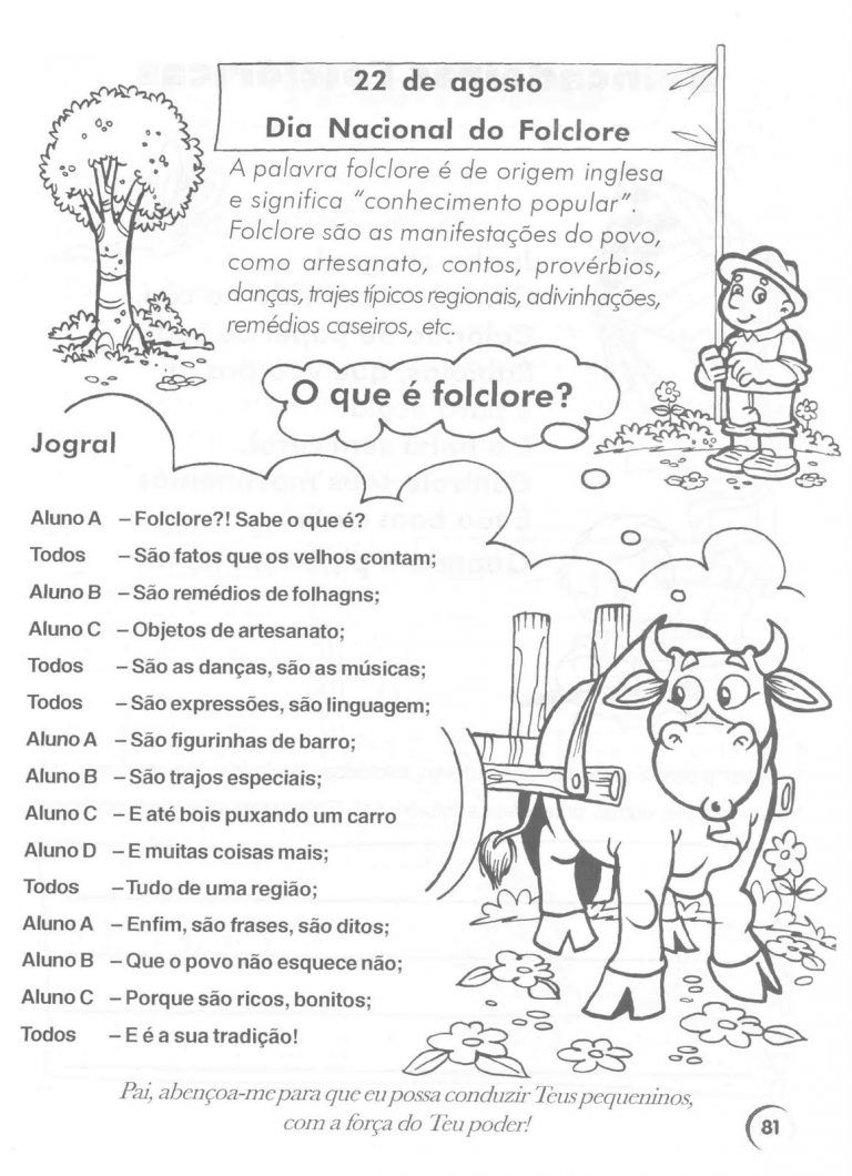 Atividades Tema Folclore Atividades Sobre Folclore Atividades
