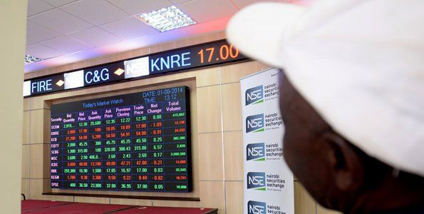 An investor monitors trade at the Nairobi Securities Exchange. PHOTO | FILE