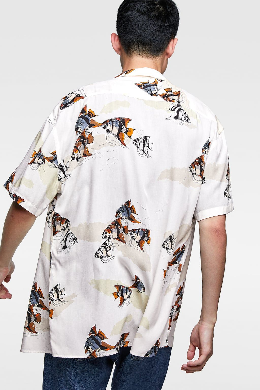Fish Y Ropa Style CamisasCamisas ShirtBaby's Flowy Hombre c45qARL3jS
