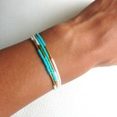 bracelet perle idee