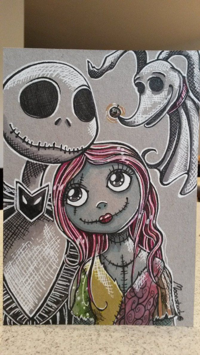 Tim Burton Nightmare Before Christmas Jack And Sally.Jack Sally And Zero Nightmare Before Christmas 3