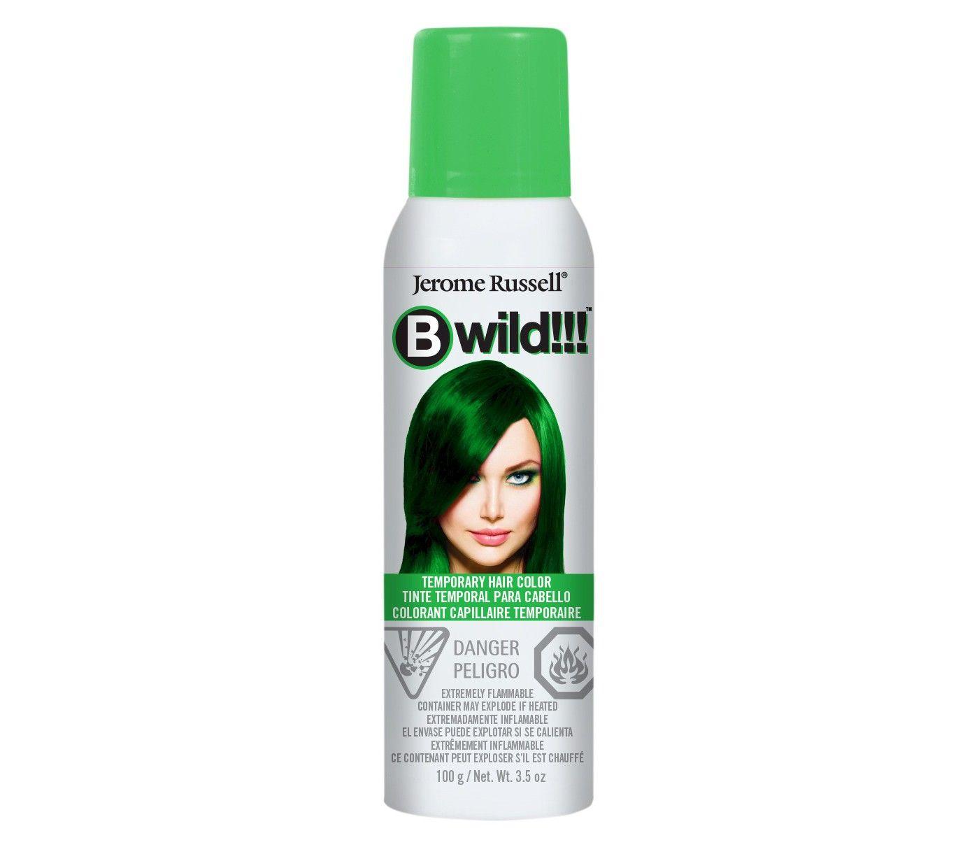 Bwild Temporary Hair Color Spray Bengal Blue 3 5oz Hair Color