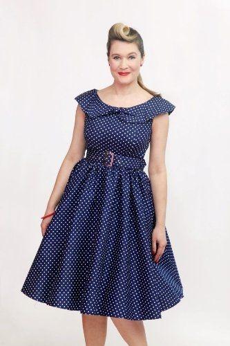 1950s collared dresses  99935698e0