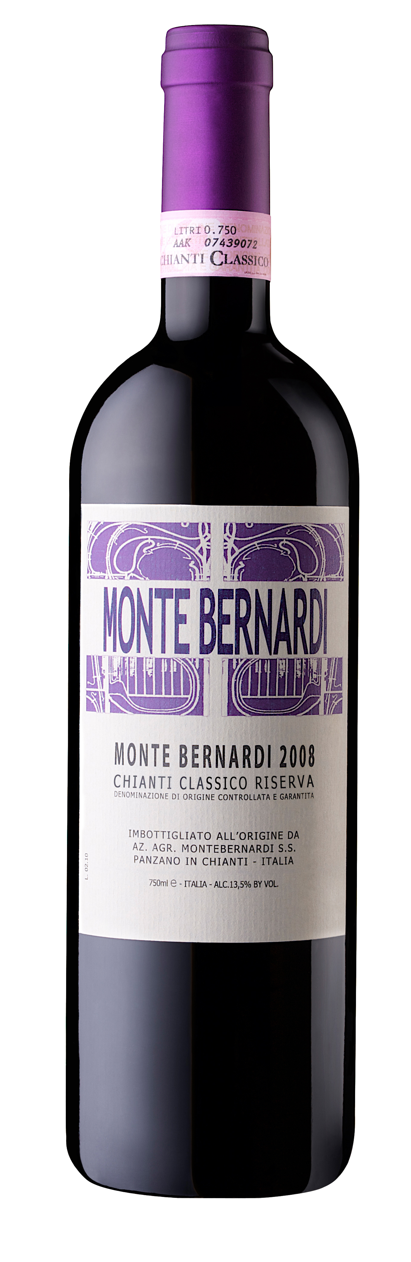This is an elegant and rich Chianti Classico Riserva, made from Sangiovese (95%) and Canaiolo Nero (5%) grapes.  After natural fermentation in a combination of oak and stainless steel, the wine is placed in oak barrels where it undergoes malolactic fermentation. The wine remains in oak for 18 to 22 months, followed by finishing in bottle for a minimum of 6 months.