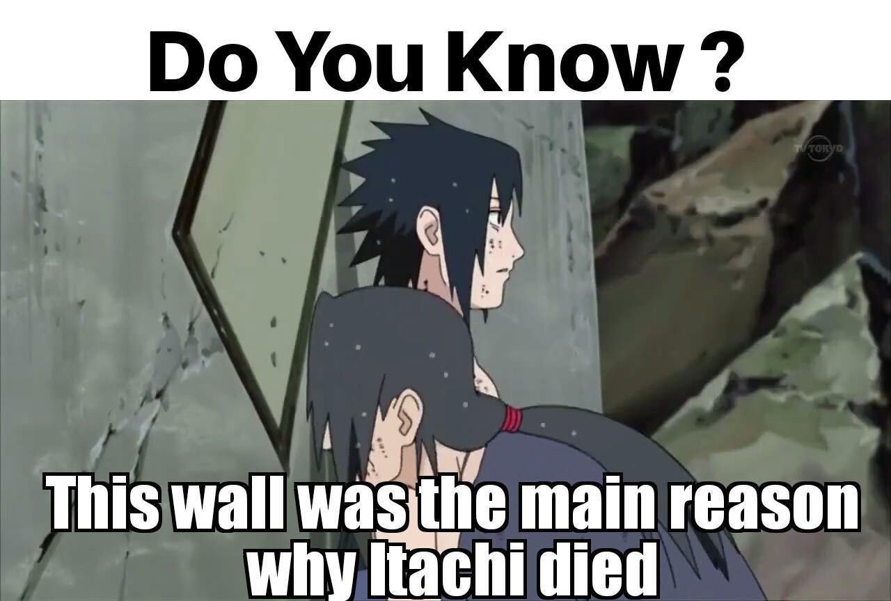 Photo of Itachi's Death – because of wall – Naruto : Wonder Of Konoha   Naruto