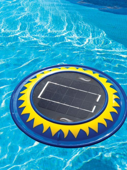 Free Solar Power Keeps Your Pool Naturally Clean And Sparkling No Installation No Plumbing No Chemicals Just Set This Solar Pod Ad Diy Pool Pool Solar Pool