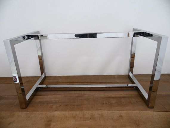 28 Quot X 28 Quot Apart 42 Quot Long Table Base Stainless