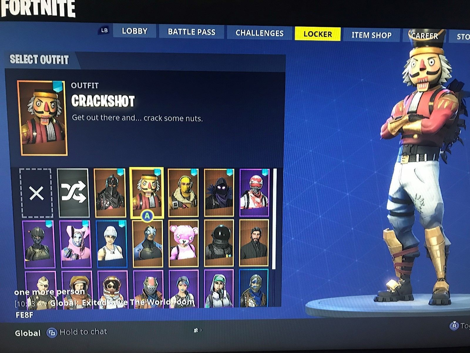 Fortnite Account |Xbox One| 21 Skins, Save the World PL23