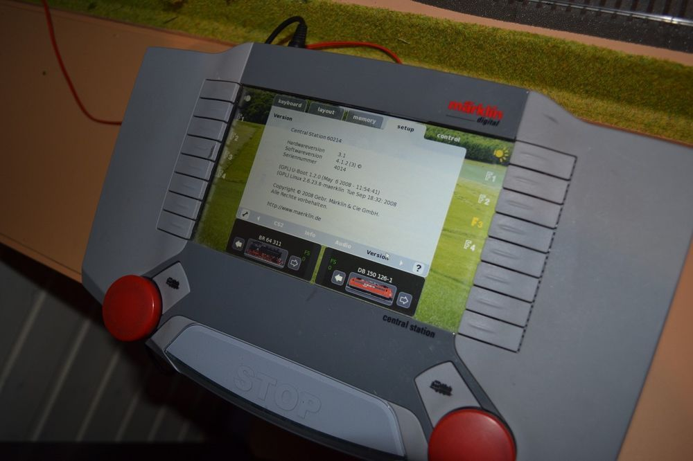 Märklin 60214 CS2 Upd. 4.1.0.(3) OVP und Märklin Trafo 60052 60VA für H0 Betrieb
