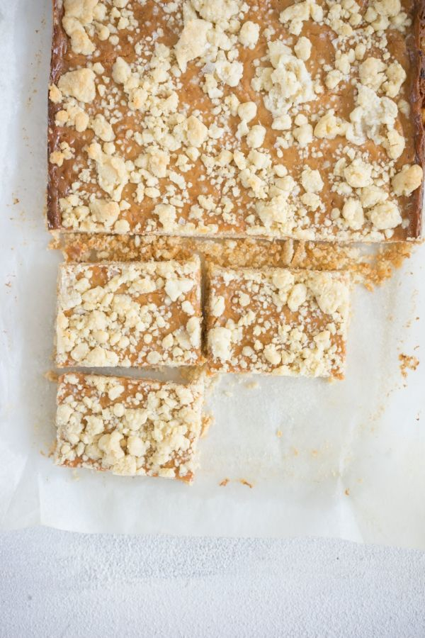 Tan Square Tan Slice Recipe A New Zealand Classic Cloudy Kitchen Recipe Slices Recipes Caramel From Condensed Milk Caramel Crumble