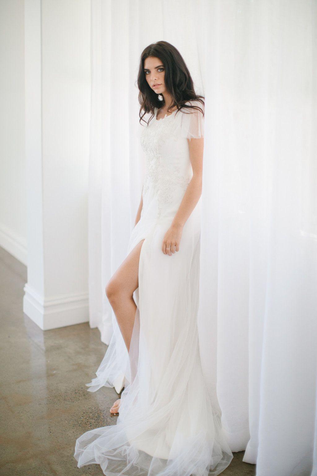 Wedding Dress By New Zealand Bridal Designer Hera Couture Couture Bridal Gowns Wedding Dresses Dresses