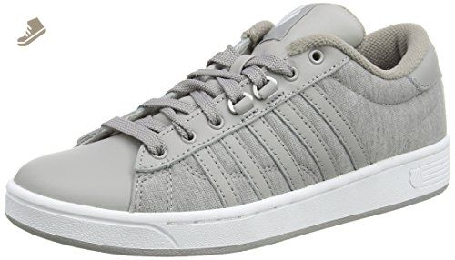 756baabcbacf K-Swiss Women s Hoke Heather CMF Fashion Sneaker, Gray Paloma White, 7 M US  - K swiss sneakers for women ( Amazon Partner-Link)