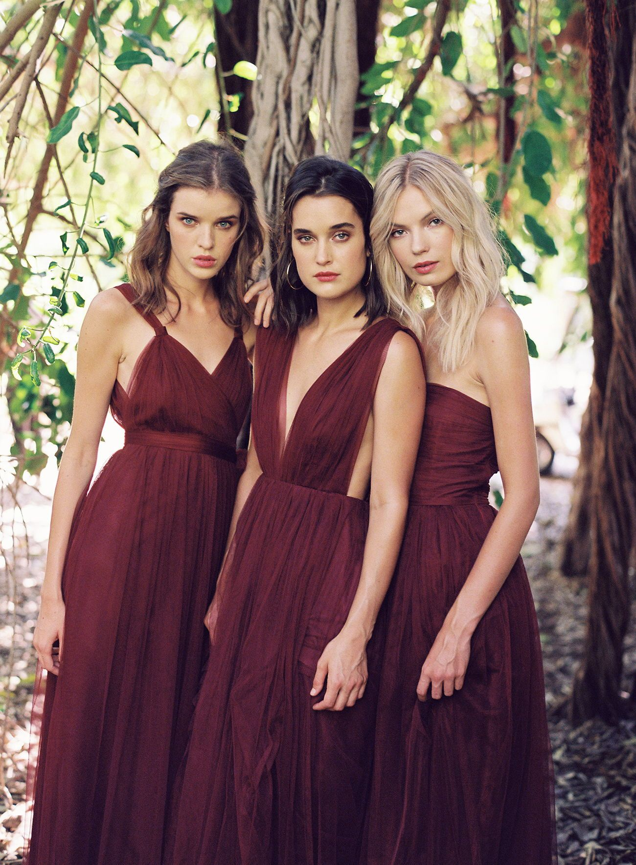 Maroon bridesmaids dresses by joanna august maroonbridesmaids maroon bridesmaids dresses by joanna august maroonbridesmaids bridesmaidideas joannaaugust ombrellifo Choice Image