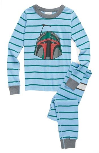 666f3bd77 Hanna Andersson  Star Wars™ Boba Fett™  Two-Piece Fitted Organic ...