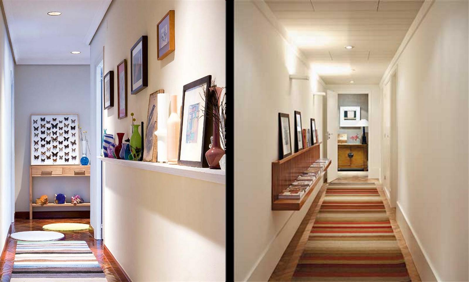 Corredores como aproveitar for Como decorar nuestra casa