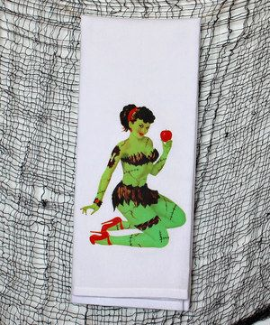 Dish towel bikini