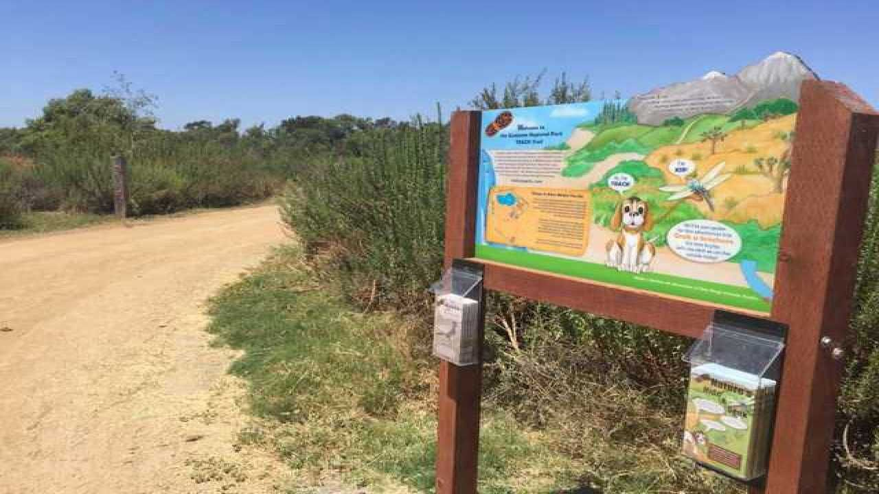 San Diego County park rangers these trails in