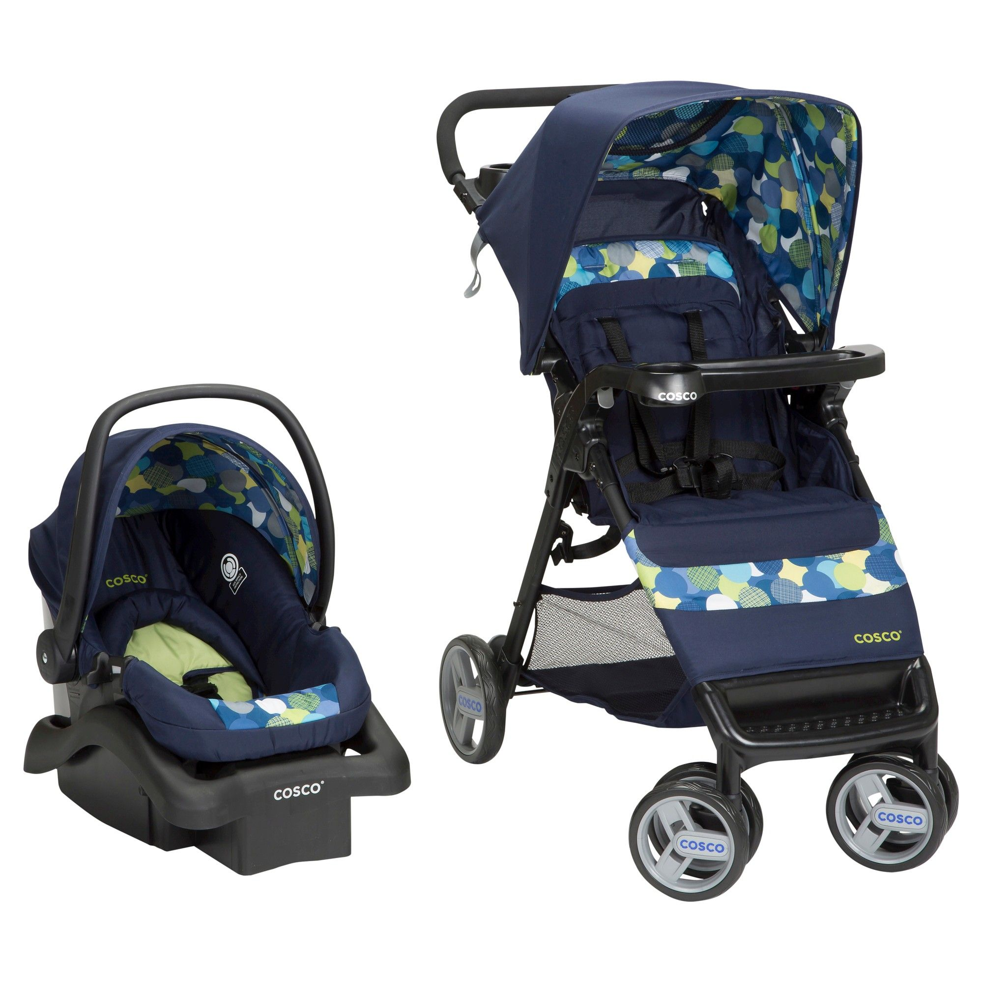 Cosco Simple Fold Travel System in Comet Travel system