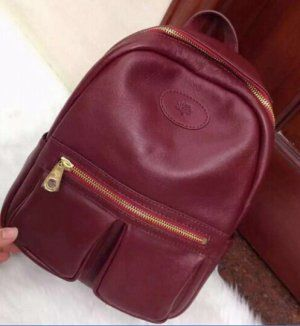 Mulberry Spring Summer 2015 Collection Outlet UK-Mulberry Henry Backpack in Red Small Classic Grain