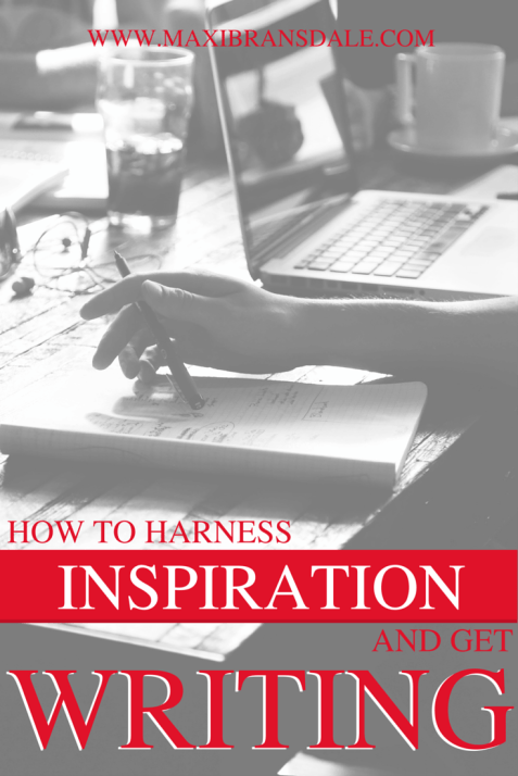 How to harness your inspiration and get back to writing that #NaNoWriMo masterpiece! #writingtips #inspiration
