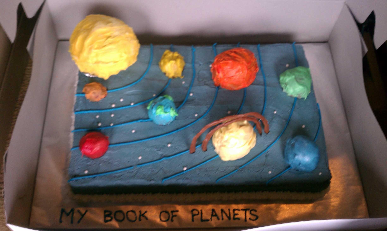 3d solar system birthday cake - photo #38