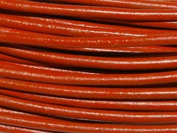 Greek Leather Cord 1.5mm - Orange