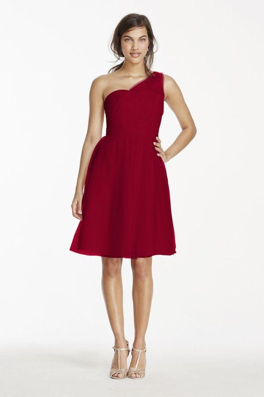 short red bridesmaid dresses nj | Top 50 Short-Red Bridesmaid ...