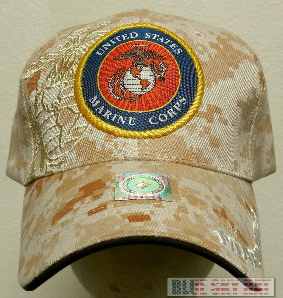 Patch Desert Marpat Camo U S Marine Corps Usmc Ega Eagle Globe Anchor Cap Hat Premiumhats Baseballcap Marpat Camo Usmc Ega Usmc