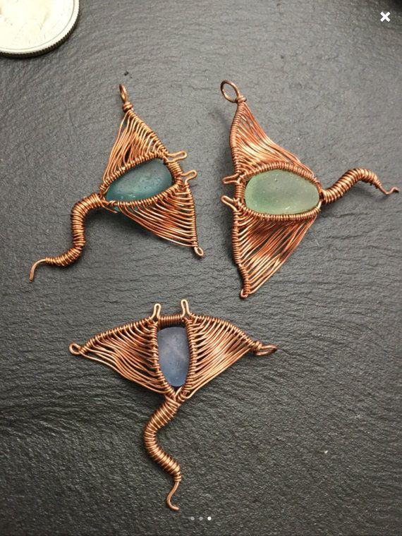 Stingray pendant hawaiian seaglass pendant by wireandbeyond808 stingray pendant hawaiian seaglass pendant by wireandbeyond808 mozeypictures Gallery