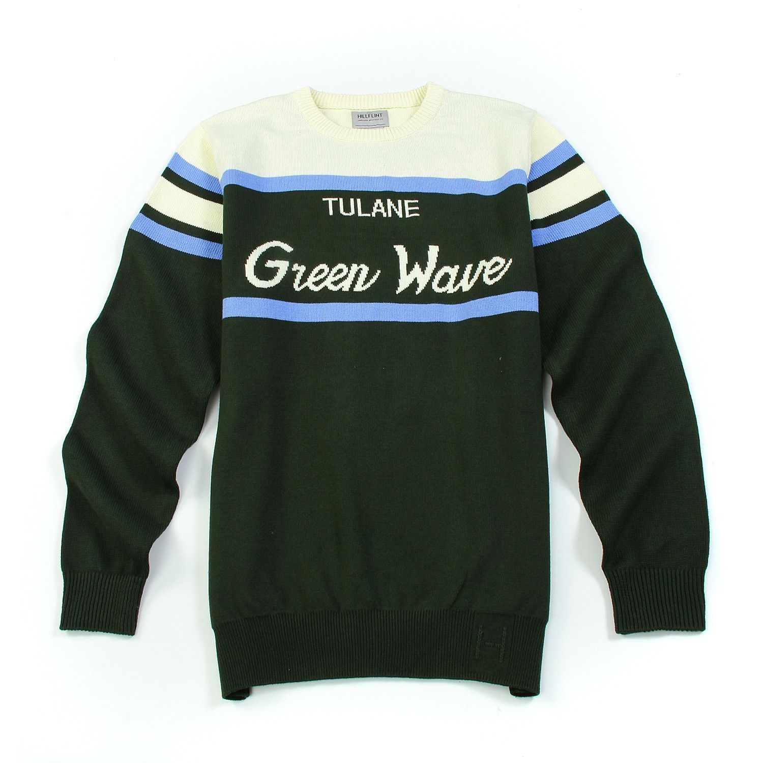 Home college tulane green wave tulane green wave silver plated - Tulane Vintage Tailgate Sweater