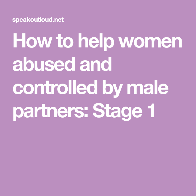 help for abusive men