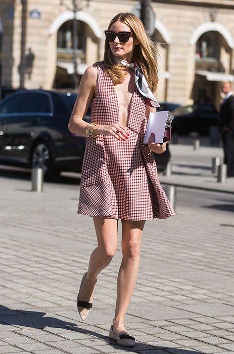 Olivia Palermo wearing the Jimmy Choo GALA flat